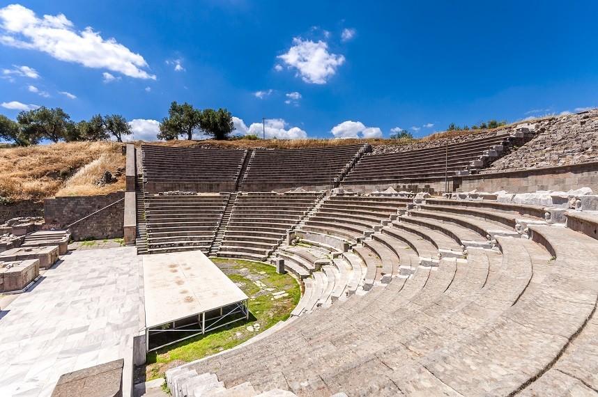 Asclepion theatre Pergamum