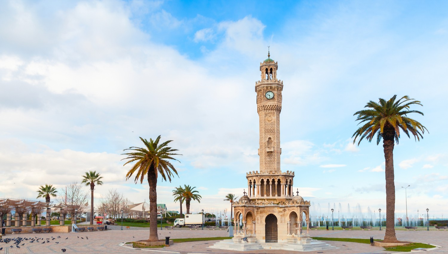 izmir konak clock tower
