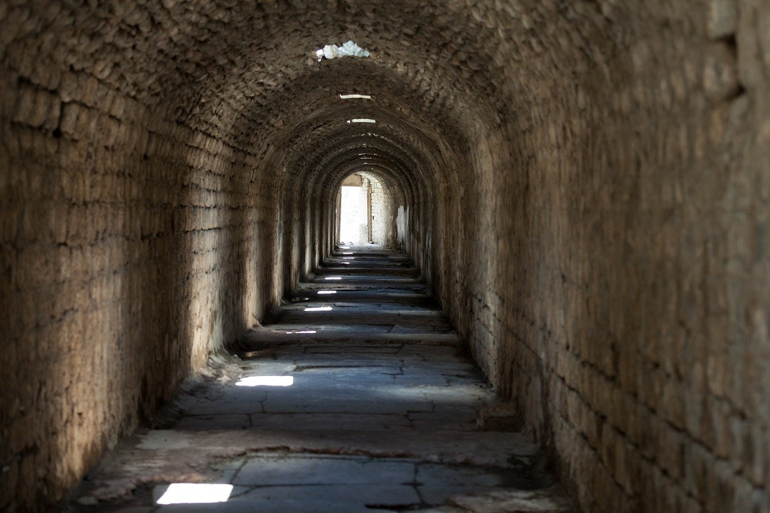 Pergamum Asclepion tunnel